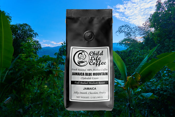100% Pure Jamaica Blue Mountain Coffee - Clydesdale Estate | Child Life Coffee