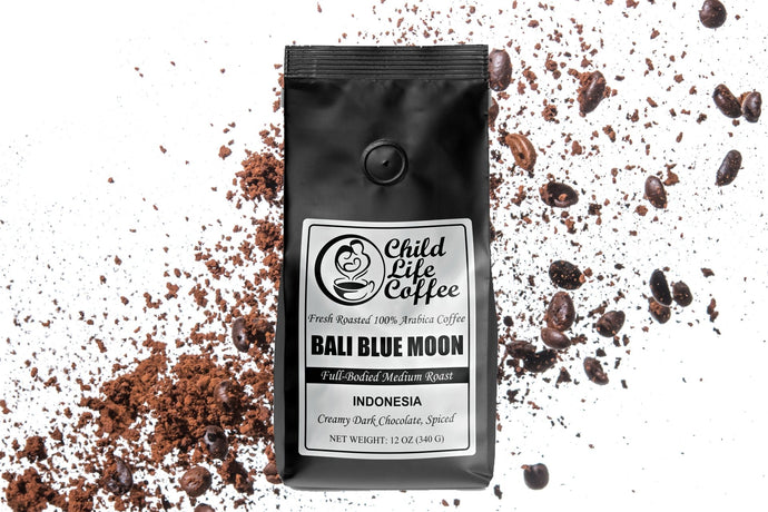 Bali Blue Moon - Organically Grown | Child Life Coffee