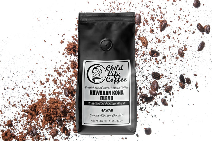 Hawaiian Kona Blend | Child Life Coffee
