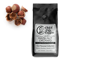 Hazelnut Orchard Flavored Coffee | Child Life Coffee