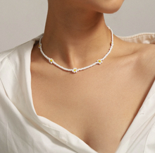 Load image into Gallery viewer, Rocking W/ Simplicity ©: Sunflower Beads Necklace