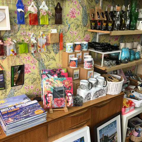 Bristol Gifts, Mugs, Glass. Independent Gift Shop.