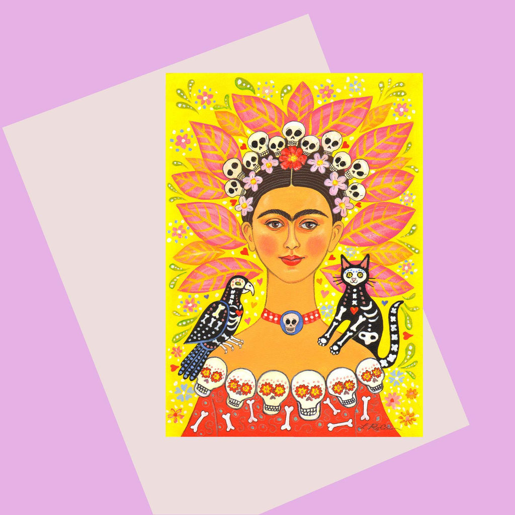 Laura Robertson Frida & Friends Card