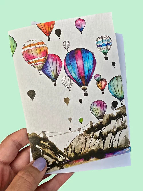 Carla James Bristol Balloons Card