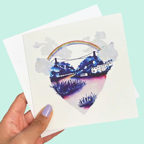 Carla James Love Bristol Card