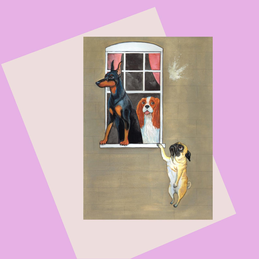 Laura Robertson Dog Lovers Card