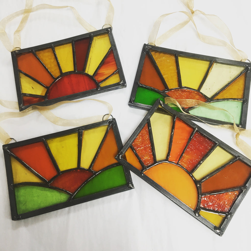 Dadswell Glass Sunset Panels