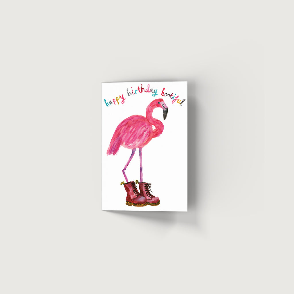 Rosie Webb Happy Birthday Bootiful Card