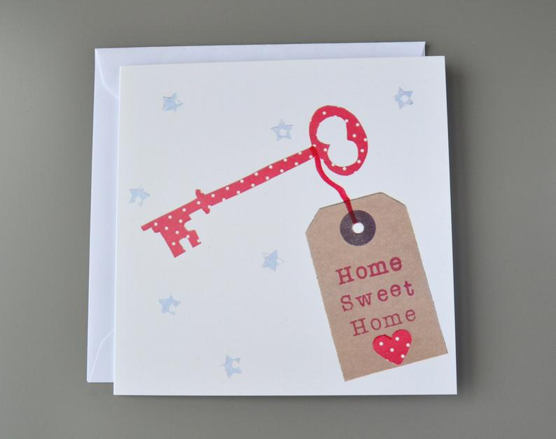 Little Red Apple New home key Card