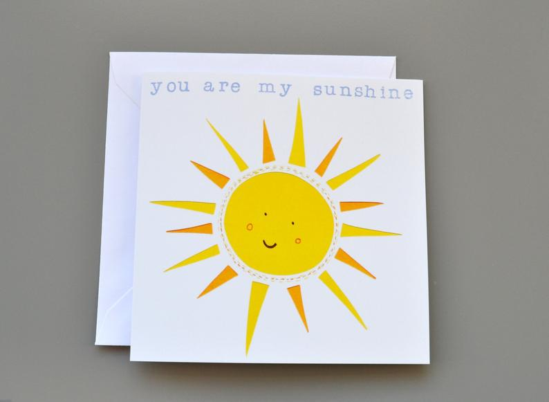 Little Red Apple My sunshine Card