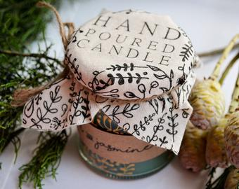 Anna Palamar hand poured candle, handmade