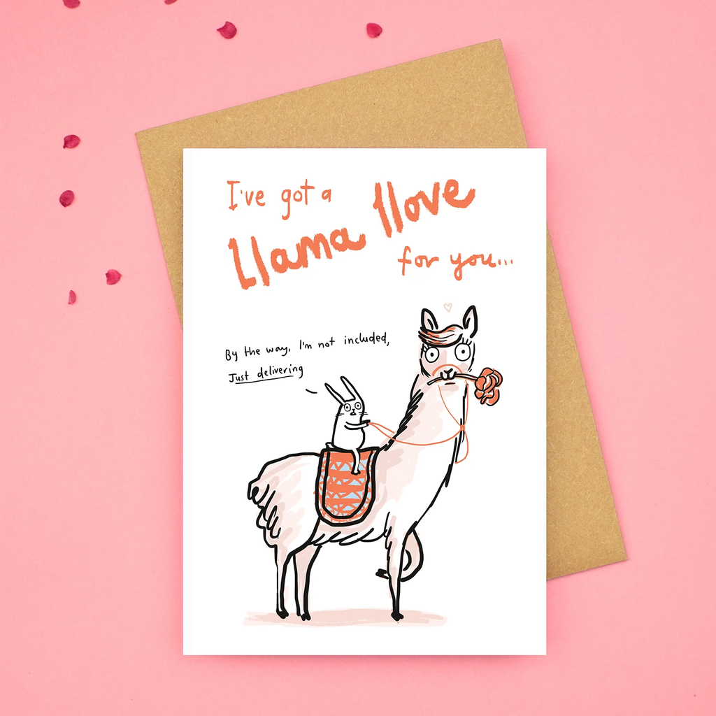Sarah Ray I've got a Llama Love for you card.