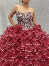 Load image into Gallery viewer, Style #26845 (Wine Dress)