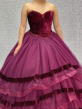 Load image into Gallery viewer, Style #26907 (Wine Dress)