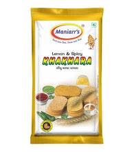 Load image into Gallery viewer, Maniarr's LEMON & SPICY Khakhra (8 packs, Single Flavor, 360 gms)