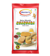 Load image into Gallery viewer, Maniarr‰۪s MASALA Khakhra (8 packs, Single Flavor, 360 gms), (Quick Masala Snacks)