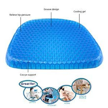 Load image into Gallery viewer, 219 Cushion Seat Flex Pillow, Gel Orthopedic Seat Cushion Pad (Egg Sitter)