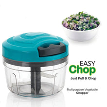 Load image into Gallery viewer, 753_Manual Food Chopper, Compact & Powerful Hand Held Vegetable Chopper/Blender