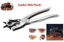 Load image into Gallery viewer, Revolving Leather Punch Plier