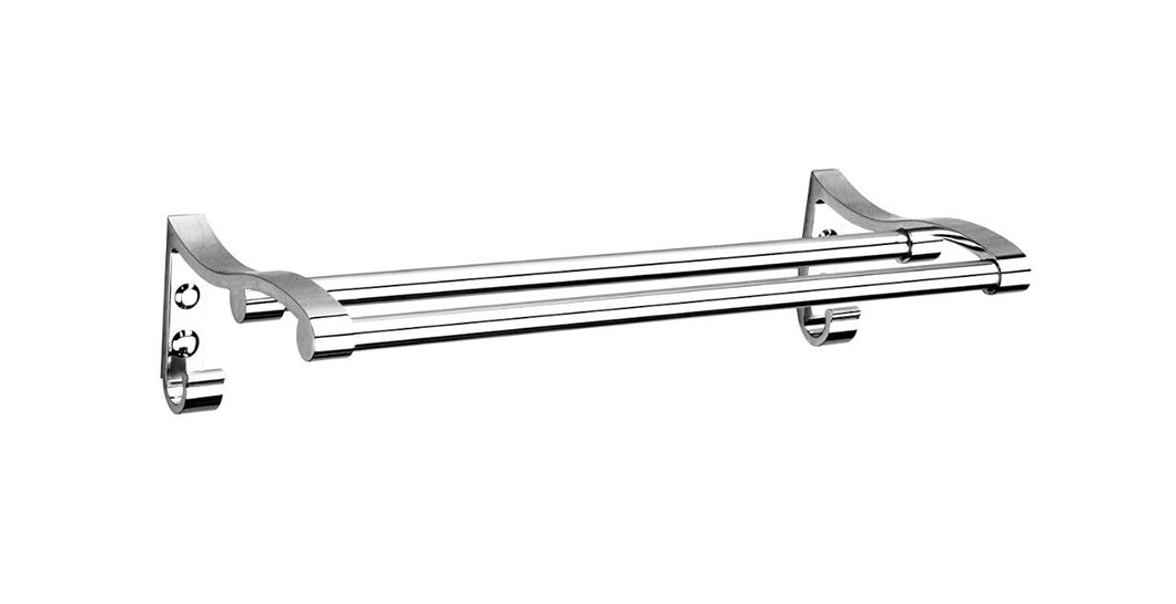 0490 Stainless Steel Towel Rack Cum Towel Bar 24 Inch