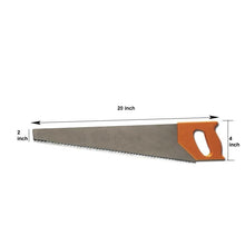 "Load image into Gallery viewer, 414 Hand Tools - Plastic Powerful Hand Saw 18"" for Craftsmen"