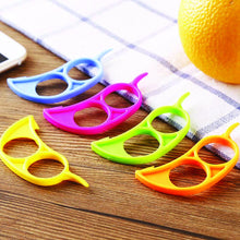Load image into Gallery viewer, 187 Kitchen Plastic Orange Citrus Peelers, Slicer, Cutter