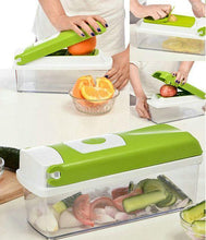 Load image into Gallery viewer, 2005_12 in 1 Magic Super Dicer Fruit Cutter Vegetable CHIPSER Unbreakable New Push & Clean