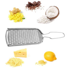 Load image into Gallery viewer, 2016_Stainless Steel Grater Nutmeg Cheese Citrus Zest Zester Grater