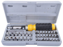 Load image into Gallery viewer, Shoppinglake.com Metal Power Tool Kit (Multicolor, 55-Pieces)