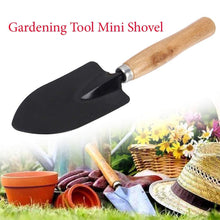 Load image into Gallery viewer, Shoppinglake.com Gardening Tools - Flover Cutter & Garden Tool Wooden Handle (3pcs-Hand Cultivator, Small Trowel, Garden Fork)