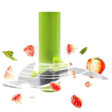 Load image into Gallery viewer, 079 Manual 2 in 1 Handy smart chopper for Vegetable Fruits Nuts Onions Chopper Blender Mixer Food Processor