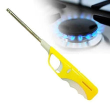 Load image into Gallery viewer, 154 Plastic Adjustable Flame & Gas refillable Lighter (Multicolour)