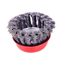 Load image into Gallery viewer, 195 Wire Wheel Cup Brush (Black)