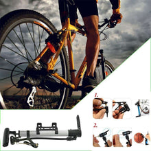 Load image into Gallery viewer, 544 Aluminum Mini Bicycle Air Pump (Multicolor)