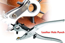 Load image into Gallery viewer, 440 Revolving Leather Punch Plier