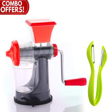 Load image into Gallery viewer, Shoppinglake.com Kitchen combo - Mini Juicer and Dual Sided Vegetables Peeler