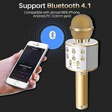 Load image into Gallery viewer, 273 Bluetooth Microphone Player speaker (Karaoke)