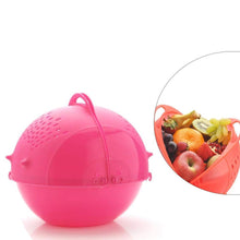 Load image into Gallery viewer, Shoppinglake.com Mix Combo - Ice Gola Maker, Fruit Juicer, Grater, Gas Lighter, Big Tea Strainer, Peeler, Vegetables Spiral Cutter, Kitchen Scrubber with Washing/Strainer Bowl & Plastic Dust Pan  (10pcs)