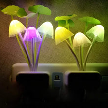 Load image into Gallery viewer, 239 Night Light Mushroom Lamp (Colorful)