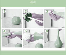 Load image into Gallery viewer, 223 -2 in 1 Plastic Cleaning Brush Toilet Brush with Holder