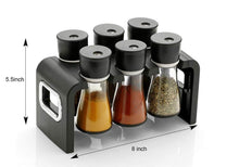 Load image into Gallery viewer, 100 Revolving Plastic Spice Rack Masala Organiser (6 Pcs)
