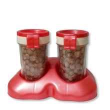 Load image into Gallery viewer, 2037  Salt & Pepper Shakers/Masala Dabbi with Stand