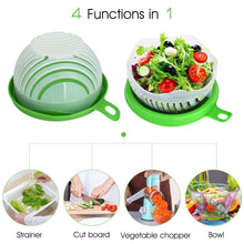 Load image into Gallery viewer, 743 Salad Cutter Bowl Upgraded Easy Salad Maker, Fast Fruit Vegetable Salad Chopper Bowl Fresh Salad Slicer