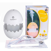 Load image into Gallery viewer, 393 Funny USB Mini Egg humidiier with Colorful Night Light egg tumbler Aroma Diffuser for Car Home Office Mist Maker egg air purifier LED Light