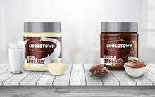 Load image into Gallery viewer, Chocotown Chocolate Spreads - Cocoa Spreads and Milk Spreadss- 350 gm