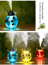 Load image into Gallery viewer, 371 Cute Beatles LED Light Humidifier Air Diffuser Purifier Atomizer Essential oil diffuser difusor de aroma mist maker fogger Gift