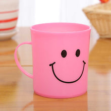 Load image into Gallery viewer, 744 Unbreakable Plastic Coffee-Milk Fancy Smiley Mug