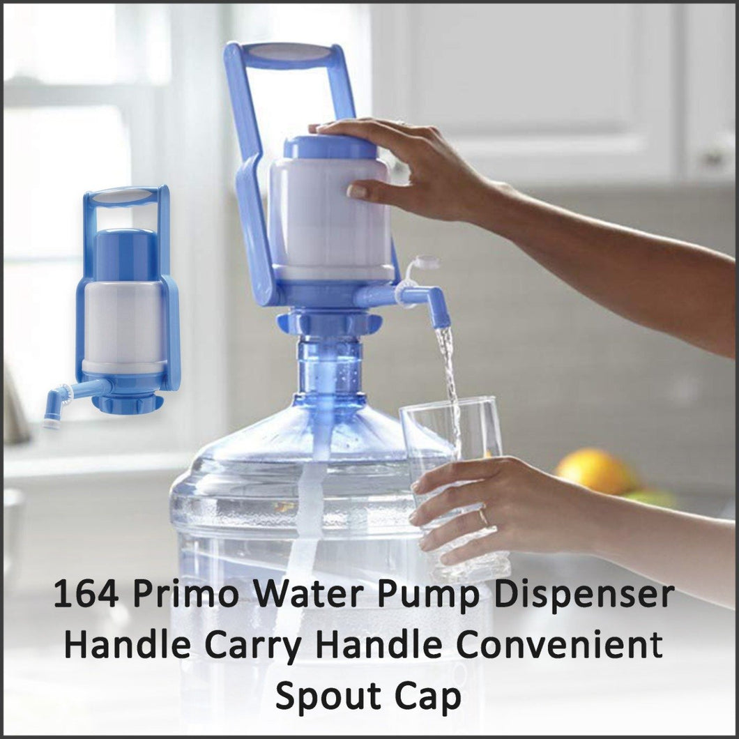 164 Primo Water Pump Dispenser Handle Carry Handle Convenient Spout Cap