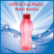 Load image into Gallery viewer, 325 Flip Cap Plastic Water Bottles