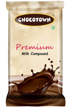 Load image into Gallery viewer, 049 Chocotown Premium Milk Compound 400gm | Chocotown Milk Choco Slab |